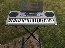 CASIO keyboard with stand... AS NEW! Blaxland Blue Mountains Preview