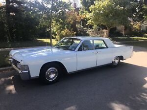 1965 Lincoln Continental. Four-door. Automatic.