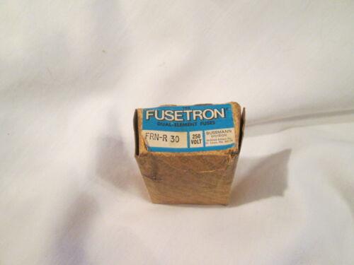 Bussmann Fusetron FRN-R-30 Fuses  - 7 pieces