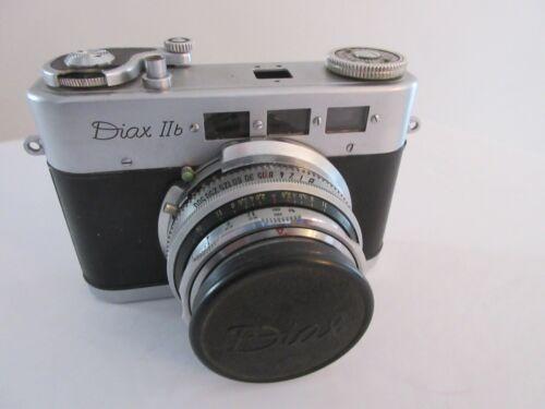 Diax IIb 35mm Rangefinder Film Camera W/ Xenar 1 :2,8/50 Lens & Leather Case