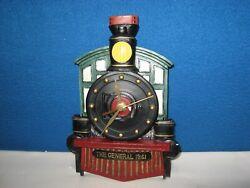 Quartz Train Locomotive Wall Clock