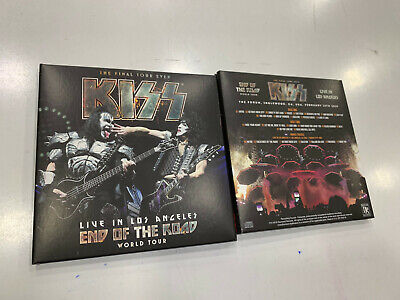 KISS 2 CD LIVE IN LOS ANGELES 16/02/2019 SEALED (Los Angeles Cd)