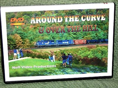 "n001 TRAIN VIDEO DVD ""CONRAIL - ALLEGHENY MOUNTAINS"""