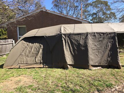 Diamantina C&mor Tent & 6 Person - 3 section tent | Camping u0026 Hiking | Gumtree Australia ...
