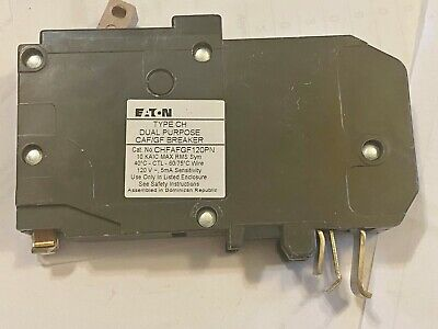 One 1 New Eaton Cutler Hammer Chfafgf120pn 20a Afci Circuit Breaker Best Price