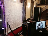 Professional photo booth services