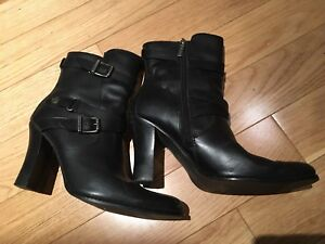 Harley Davidson black leather dress boots size 8.5