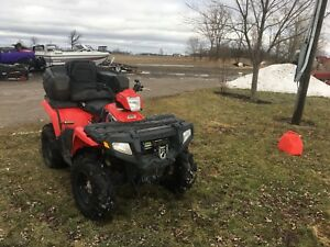 2010 Polaris sportsman 4x4 800cc sell/trade for car/trailer/boat