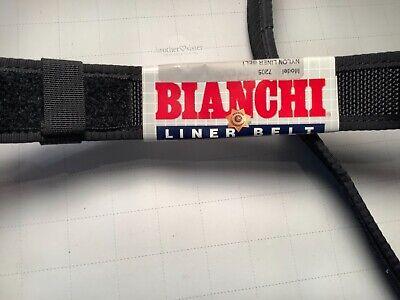 Bianchi 17707 Black Nylon 7205 Inner Liner Duty Belt - Medium 34-40