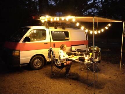 Toyota Hiace Campervan with Solar Power Murray Bridge Murray Bridge Area Preview