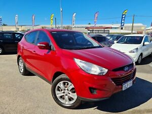2010 Hyundai ix35 LM MY11 Active (FWD) Red 6 Speed Sports Automatic Wagon Petrol Cannington Canning Area Preview