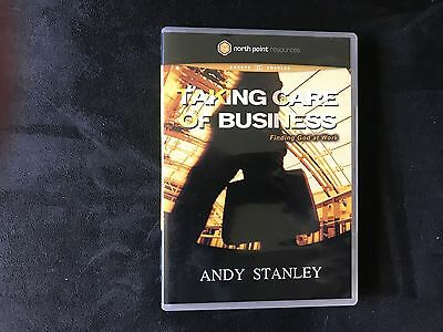Taking Care Of Business  Finding God At Work By Andy Stanley Dvd Video Book  Eng