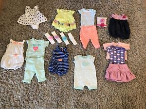 New Born Summer outfits and headbands