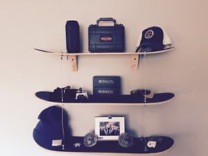Pottery Barn Skateboard shelf