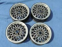 4x EXIP Alufelgen 6Jx14H2ET33 4x108 Audi 80 (89, 89Q,8A,B3) 41038 Bayern - Geroda Vorschau