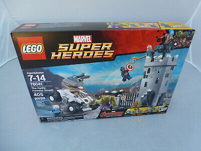 LEGO 76041 Marvel Super Heroes The Hydra Fortress Smash new in sealed box