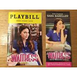 Sara Bareilles WAITRESS NEW PLAYBILL AND FLYER - FREE SAME DAY SHIPPING