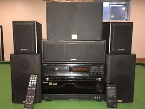 Home theatre system with CD player
