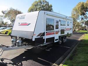 **BRAND NEW** 2017 CONDOR FAMILY CARAVAN WITH 3BUNKS - 23FT CABIN Coburg North Moreland Area Preview