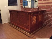 Custom made solid timber Bar Croydon Hills Maroondah Area Preview