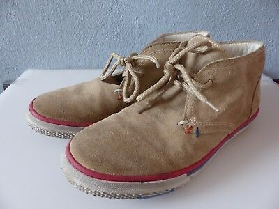 Top ★ COLE BOUNCE ★ coole Jungen Desert Boots, Wildleder, beige, Gr. 34 LUXUS