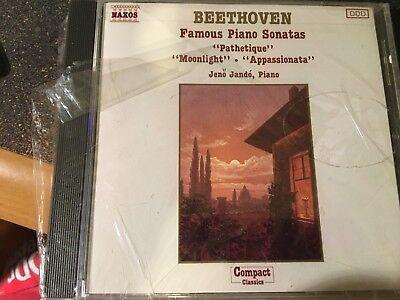 CD BEETHOVEN  Famous Piano Sonatas