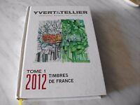 Catalogo Yvert E Tellier Francobolli Di Francia 2012 Come Nuovo -  - ebay.it