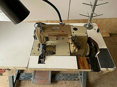 Union Special 56500 Double Needle Sewing Machine Table Motor