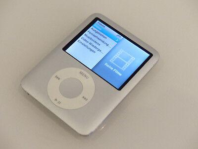 Apple iPod nano 3. Generation Silber (4GB) A1236 gebraucht #1 Ipod Nano 3. Generation