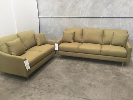 BRAND NEW - La-Z-Boy 2 + 3 Seat Sofa Lounge Suite Set