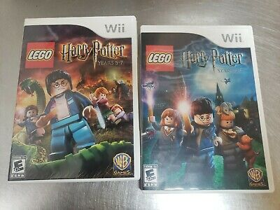 LEGO Harry Potter: Years 5-7 (Nintendo Wii, 2011) & LEGO Harry Potter: Years 1-4