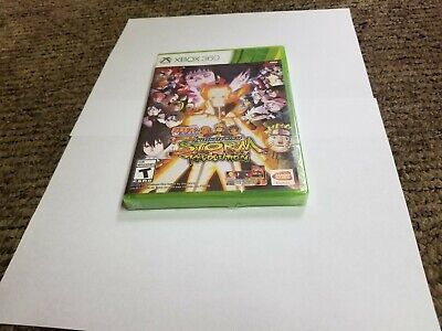 Naruto Shippuden: Ultimate Ninja Storm Revolution (Microsoft Xbox 360, 2014) new comprar usado  Enviando para Brazil