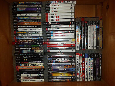 PS3 Playstation 3 Games Pick N Choose! OVER 70 Available! Starting at $5! CHEAP!