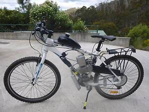 Motorised Bicycle Cygnet Huon Valley Preview