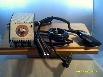 America Beauty Resistance Soldering Set-power Unit Foot Pedal Pinch Electrodes