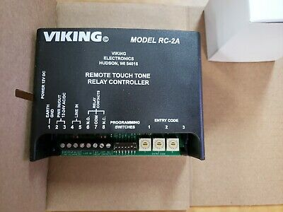 Viking Rc-ca Remote Touch Tone Controller