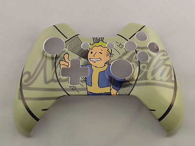 Fallout Boy Pipboy Hydro Dipped  Front Shell For Xbox One Controller   New