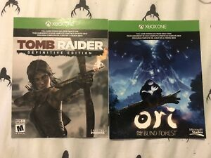 Tomb Raider Definitive Edition + Ori and the blind forest XBOX