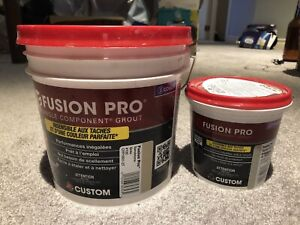 Left over Fusion pro grout for sale
