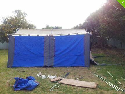 Tent Cabin 15' X 12' with front awning Eleebana Lake Macquarie Area Preview