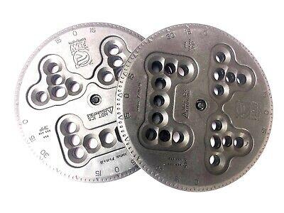 Flow Snowboard Bindings - Combi Discs - Replacement Pair in Black - No Screws