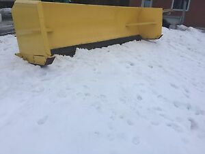 17 ft plow blade pusher 2 yrs old