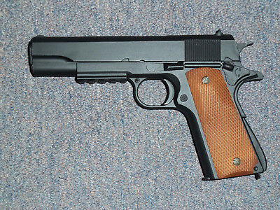 1911 A1 B Replica Gun 1pc Lot Movie Prop Costume for Walking Dead Resident Evil ](Costumes For Movies)