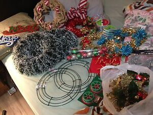 wreath making stuffs