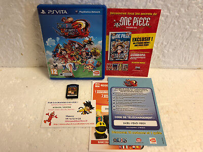 Jeu Vidéo One Piece Unlimited World Red Sony Playstation PS VITA PSVITA Complet