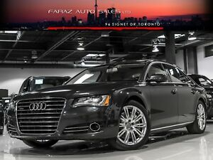2011 Audi A8 L|4.2|FULLY LOADED|BLINDSPOT|MASSAGE|PANO ROOF