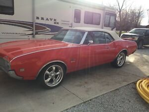 1969 Cutlass Covertible