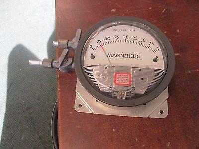 Magnehelic Water Guage 163283-00 15 Psig Max Range 0-2 Used