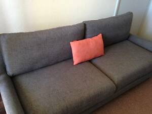 'Bedford' 3 Seater Sofa (Charcoal) Tuart Hill Stirling Area Preview
