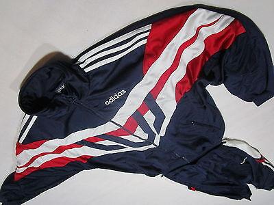 Adidas Trainings Anzug Jogging Sport Track Jump Suit Vintage Oldschool VTG D 7 L